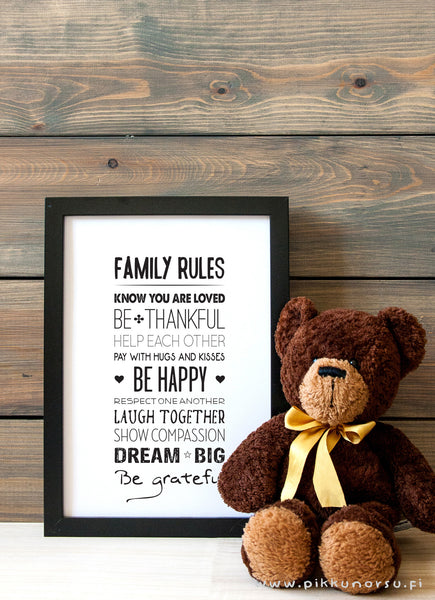 Family rules, A3