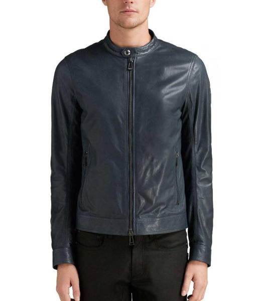 Designer genuine  leather  Handmade Man Zac Efron Leather Jacket: Guaranteed delivery within 4 working  days after dispatch