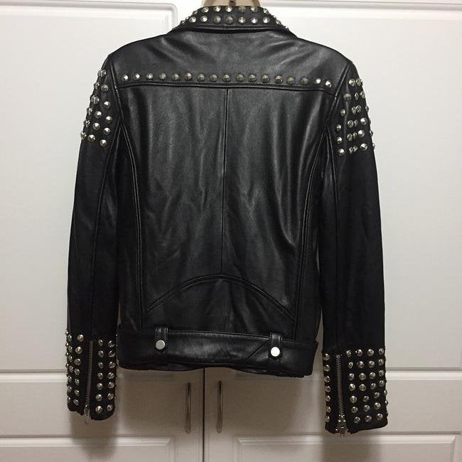 Designer genuine  leather  Handmade woman studded Leather jacket: Guaranteed delivery within 4 working  days after dispatch