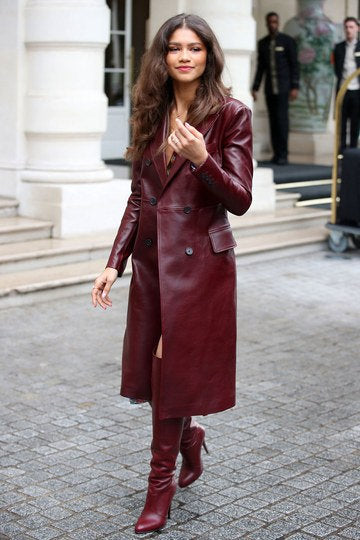 Designer genuine  leather  Handmade woman Coat Leather jacket: Guaranteed delivery within 4 working  days after dispatch
