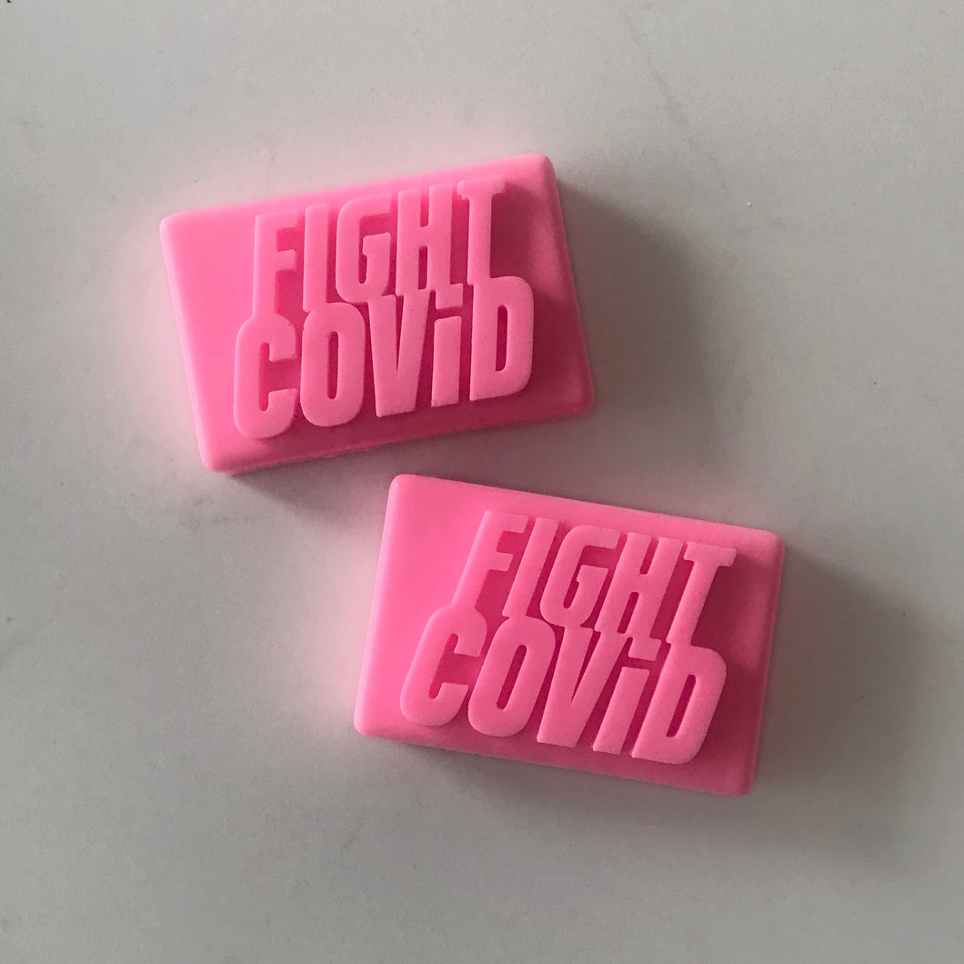 FIGHT COVID SOAP    Double Pack