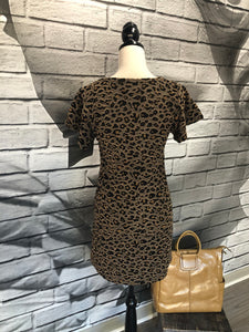 Lina Leopard Dress