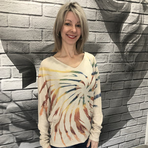 Painted Desert Tie Dye Sweater