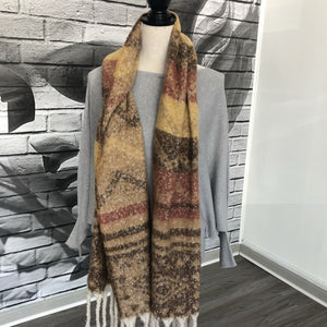 Ortega Scarf in Falling Leaves
