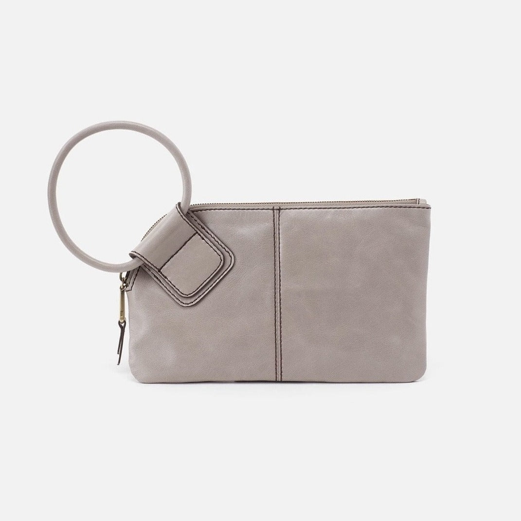 Sable Hobo Wristlet in Driftwood