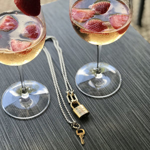 Louis Vuitton Lock & Key Necklace