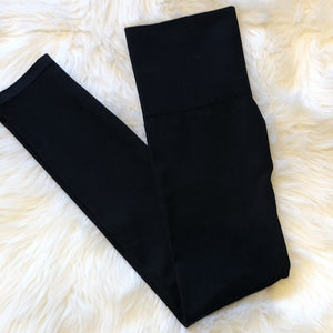 True Black Leggings