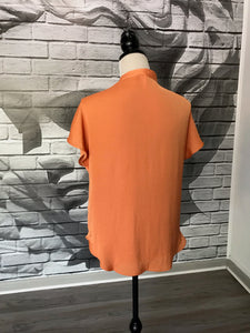 Ortega Top in Tangerine
