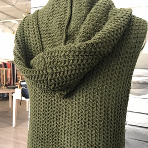 Atlas Cardigan in Olive