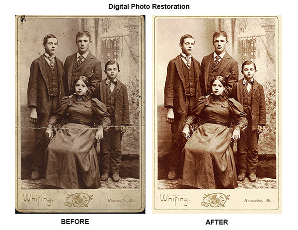 NFA Printing Digital Restoration Example