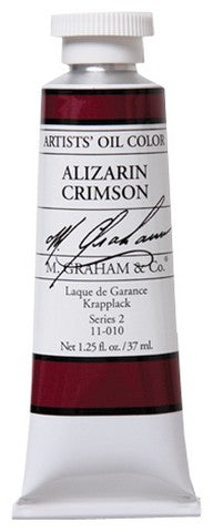 M Graham Oil Alizarin Crimson