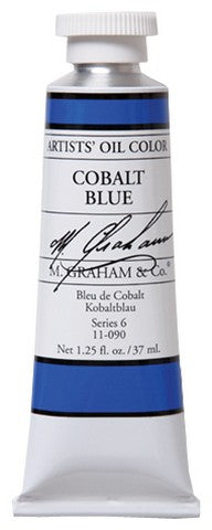 M Graham Oil Cobalt Blue