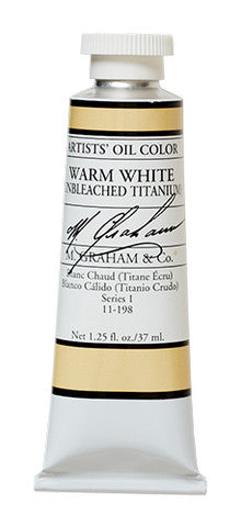 M Graham Oil Warm White Unbleached Titanium