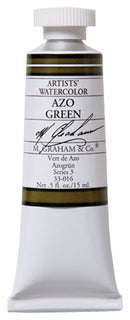 M Graham Watercolor Azo Green