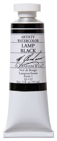 M Graham Watercolor Lamp Black