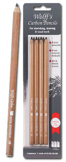 Wolff's Carbon Pencil Set of 4