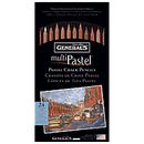 General Multi-Pastel Chalk Pencil Set