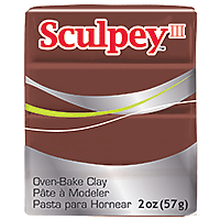 Sculpey III Chocolate 2oz