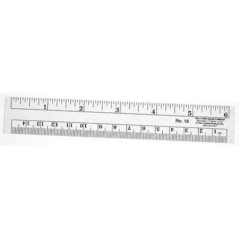 C-Thru Flexible Inch & Metric Ruler