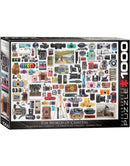 Eurographics The World of Cameras 1000 Piece Puzzle