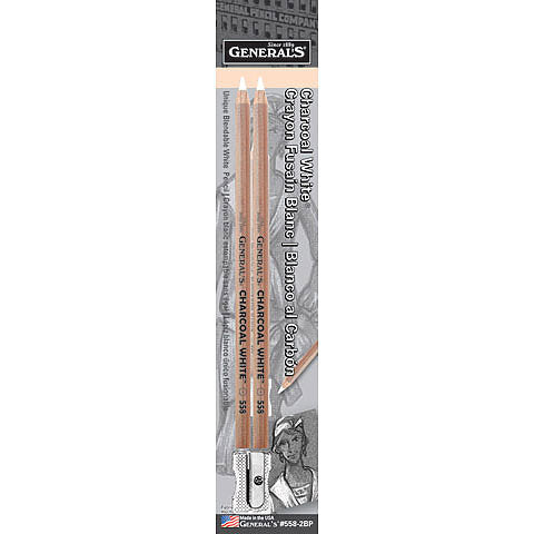 General Charcoal White Pencil Set