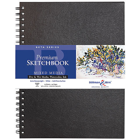 Stillman & Birn Beta Series Premium Hard-Cover Sketch Books