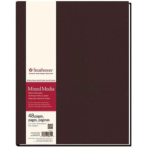 Strathmore Mixed Media Hard-Bound Art Journals 500 Series