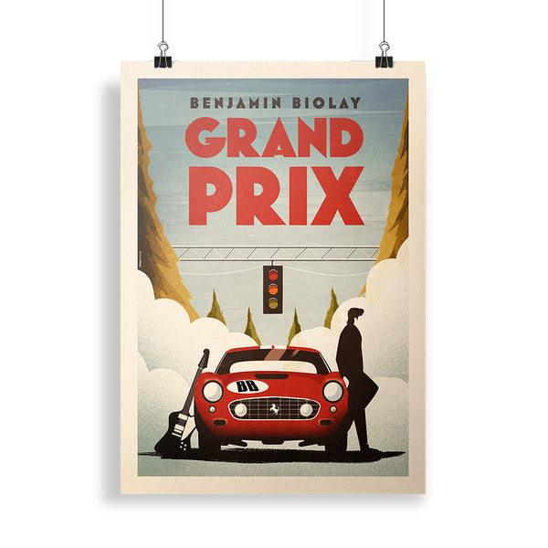Affiche | Affiche Collector « Grand Prix »