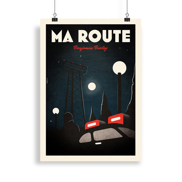 "Nouvelle Affiche Collector ""Ma route"""