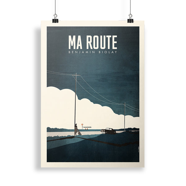Affiche | Affiche Collector « Ma route »