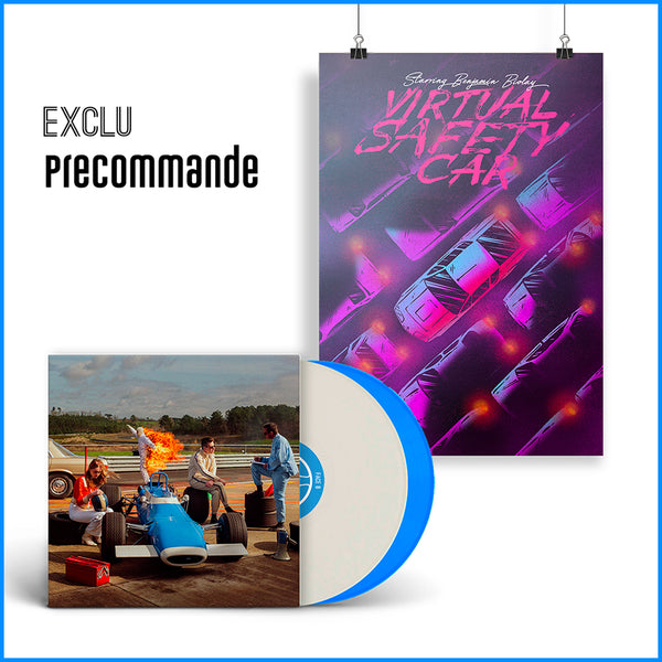 "Pack Double Vinyle + Affiche Dédicacée ""Virtual Safety Car"""