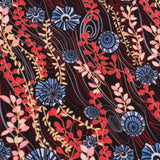 "100% Cotton Lawn, Funky Floral, Summer, 58"" Wide"