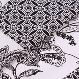 "100% Cotton Lawn, Floral Henna, Summer, 58"" Wide"