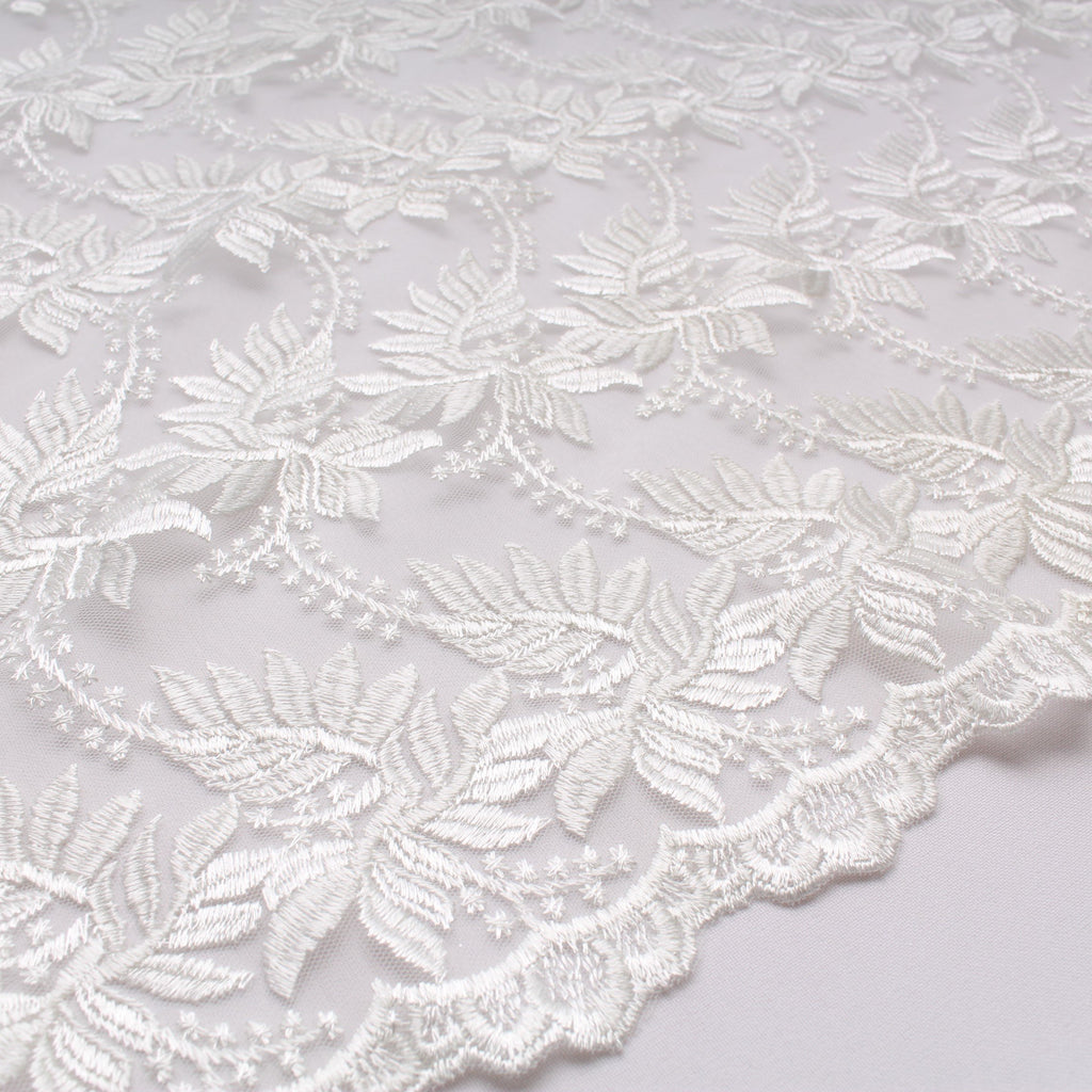 Viscose Embroidered Tulle