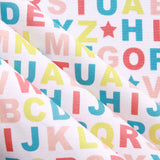 Numbers & Letters Quilting Cotton, Teddy Bear Picnic Collection