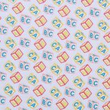 Baby Block Letters Quilting Cotton, Teddy Bear Picnic Collection
