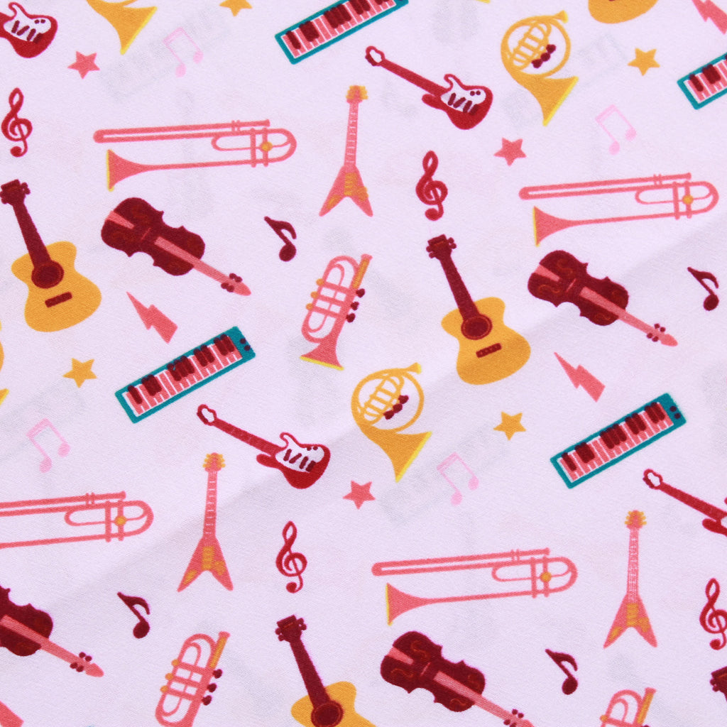 Instruments Quilting Cotton, Sound of Music Collection
