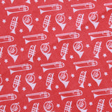 Trumpets & Trombones Quilting Cotton, Sound of Music Collection