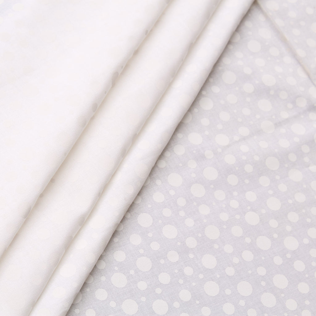 JOANN Dot Pigment-White Cotton Poplin