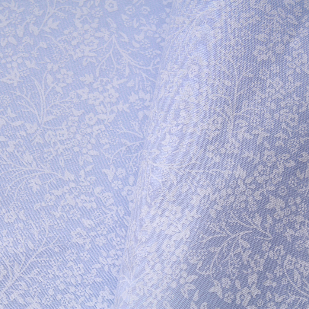 "Vintage Floral Stems, 100% Premium Paste Printed Cotton, Approx. 44"" (112cm) Wide, 140 GSM"