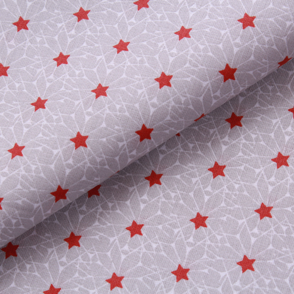 "Crystal Stars, 100% Printed Cotton, 63"" Wide"