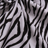 "Zebra Print Brushed Cotton, 44"" Wide"