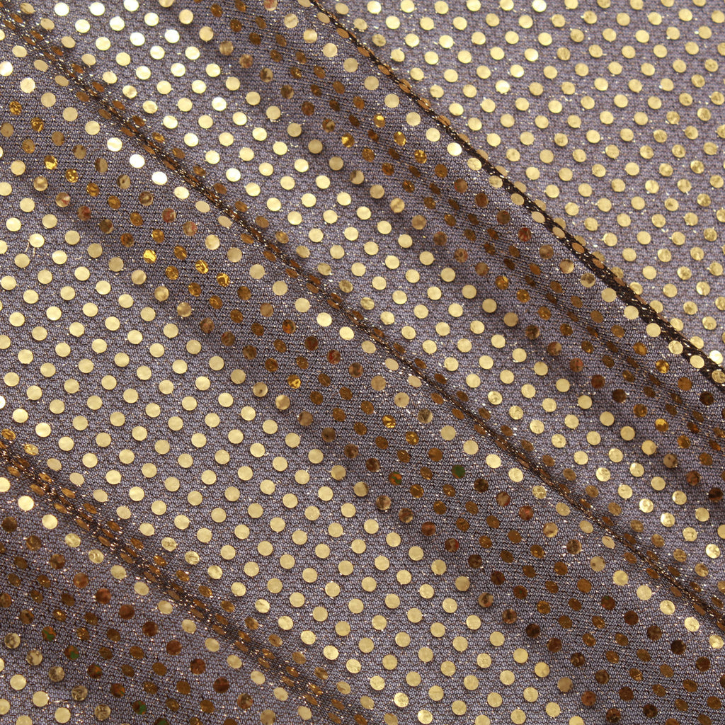 4mm Sequins 100% Polyester Sonnet Fabric - 100GSM