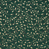 "Mistletoe Madness Metallic Foil Vintage Christmas Cotton, Approx 44"" (112cm) Wide"