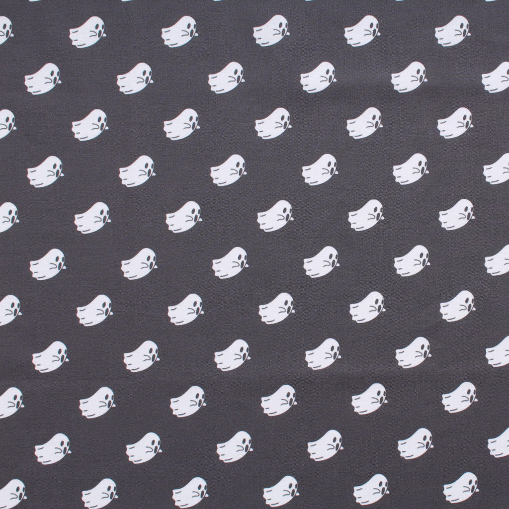 Premium Quilting Cotton, Boo Ghosts, Halloween Collection