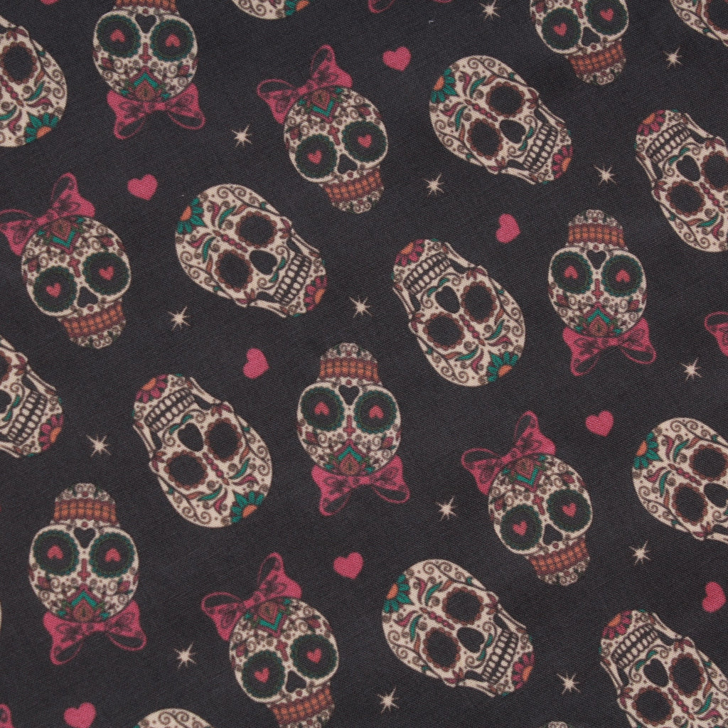 Premium Quilting Cotton, Match Made in Horror, Halloween Collection