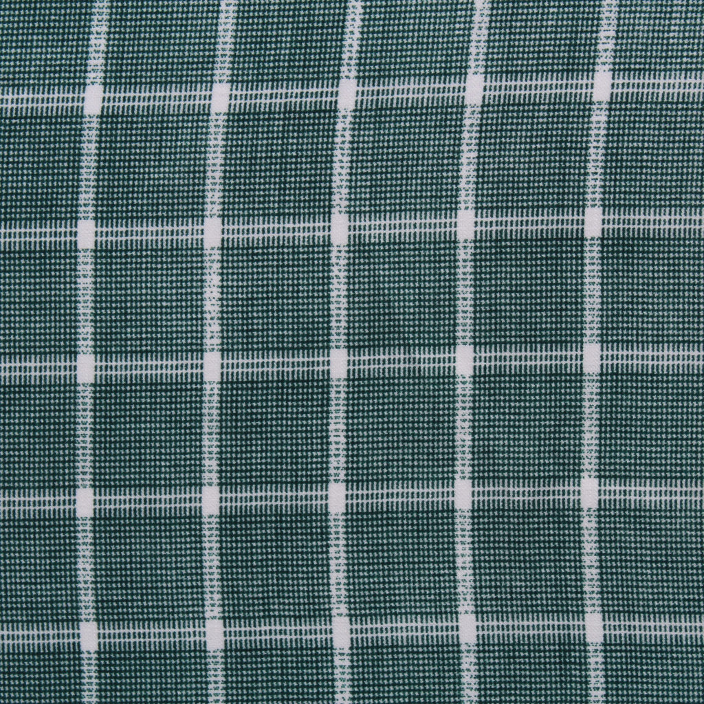 Printed Santana - Green Checkered