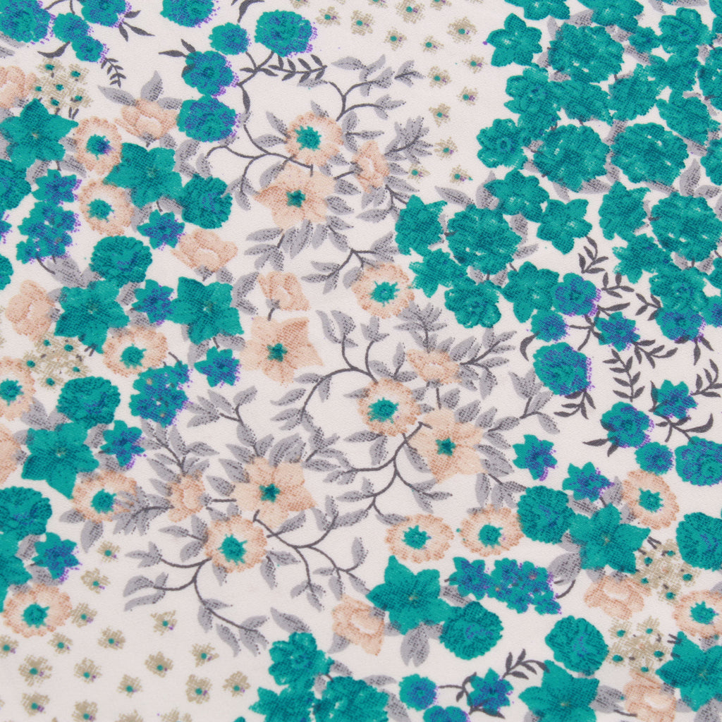 "Polyester Crepe Floral Bloom 44"" Wide"