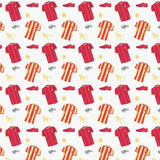 100% Premium Quilting Cotton, Football Range - Red Whistles FF228-2