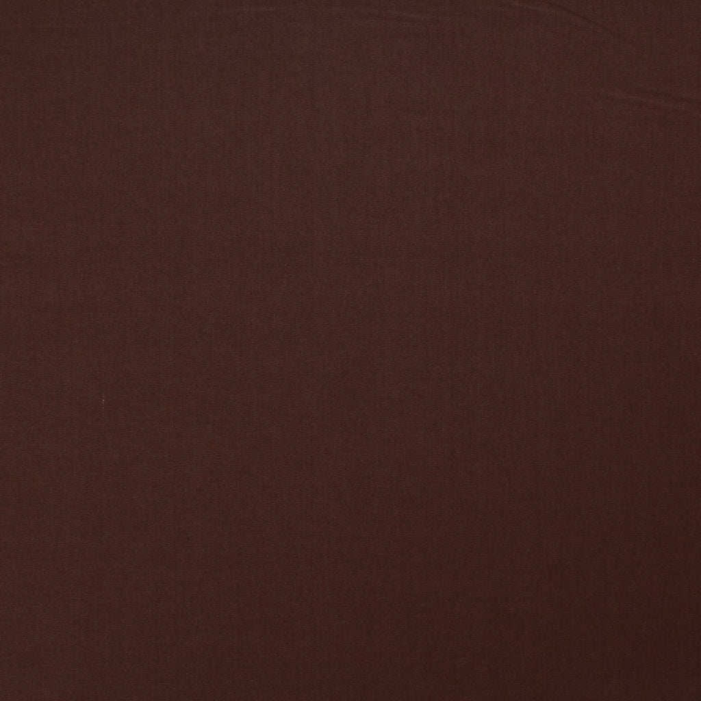 Premium Plain Quilting Cotton, Fabric 112cm Wide Brown